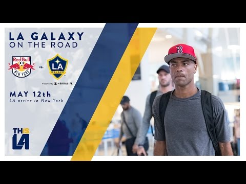 Video: LA Galaxy travel to New York | On The Road