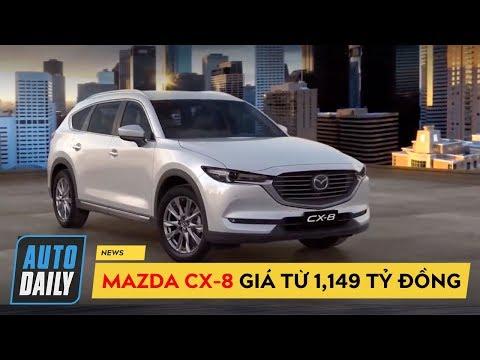 Thaco giới thiệu Mazda CX-8 SUV 7 có 04 phiên bản chính thức tại Việt Nam @ vcloz.com