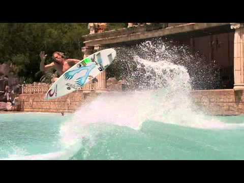 RIP CURL Mirage Boardshorts   The Matrix Bullet Time Surf Sequence | Video