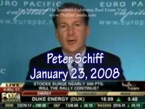 Dave Ramsey Was Wrong; Peter Schiff Was Right; The Panic of 2008