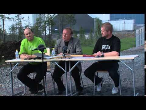 Presskonferens 3 juni 2013 Råkapitalisterna tar över Northland