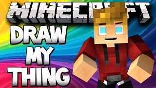 Minecraft Draw my Thing Randomness w/ Lachlan&Friends