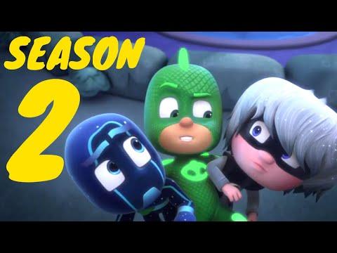 PJ Masks Season 2 Full Episodes 7-12 | 1 hour PJ Masks