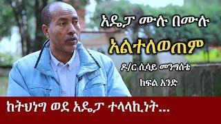 Ethiopia: አዴፓ ሙሉ በሙሉ ተለጧል ለማለት ያስቸግራል - ዶክተር ሲሳይ መንግስቴ   Dr Sisay Mengistie Part One