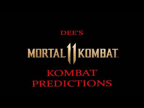 MORTAL KOMBAT 11- MY HOPEFUL KOMBAT PREDICTIONS. (PS4/ Xbox One)