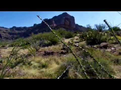 Hike to Mount Ajo via Bull Pasture & ARCH, Organ Pipe Cactus National Monument 2013 - Part 2