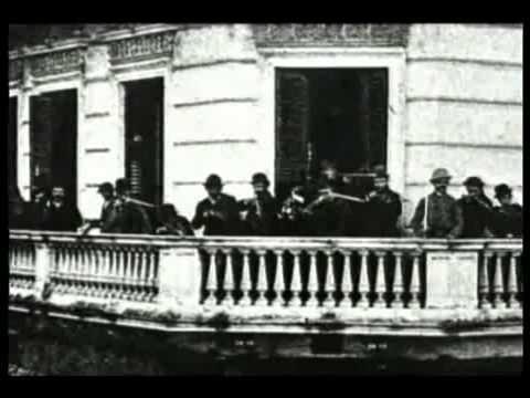 1890-1898 Presidentes Argentinos - Carlos Pellegrini,Luis Saenz Peña & Jose Evaristo Uriburu