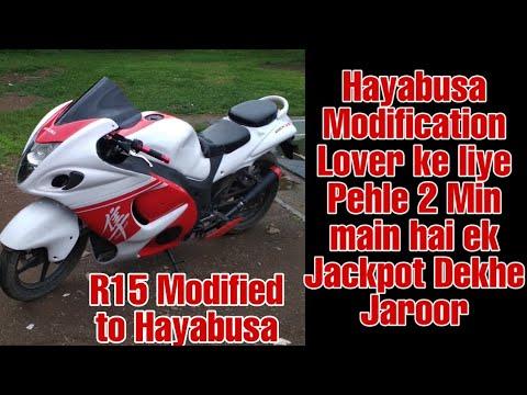 YAMAHA YZF-R15 カスタム||バイクパーツ動画バイク用品動画