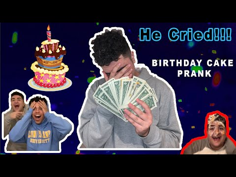 $100 BIRTHDAY CAKE PRANK | *GONE WRONG* |