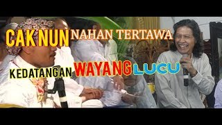 "Video CAK NUN Kedatangan ""Perform  WAYANG KULIT"" SUPER LUCU MP3, 3GP, MP4, WEBM, AVI, FLV Mei 2018"