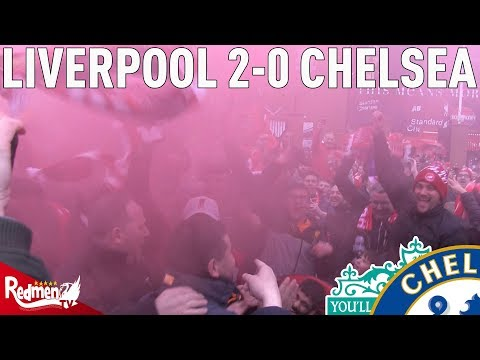 Liverpool V Chelsea 2-0 | Free-For-All Fan Cam