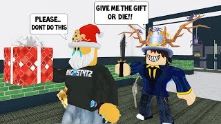 This Player Wouldn't Accept my Gift Until... (Roblox Murder Mystery 2)