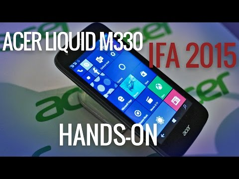 Acer Liquid M330 hands-on