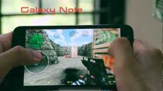 Counter Strike Portable Android Gameplay Full Review : Samsung Galaxy Note