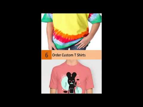 Custom T-Shirts – Design Your Own T-Shirts Online – Free Shipping!
