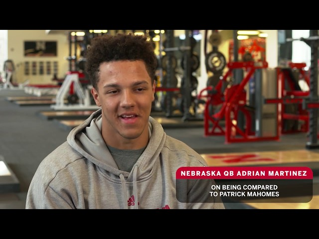 Husker Blitz - Nebraska QB Adrian Martinez on Coach Frost ...