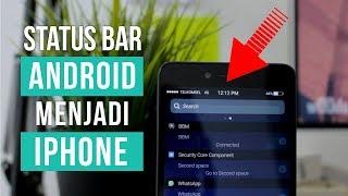 Video Mengubah Notifikasi Status Bar Android Menjadi iPhone MP3, 3GP, MP4, WEBM, AVI, FLV Mei 2019