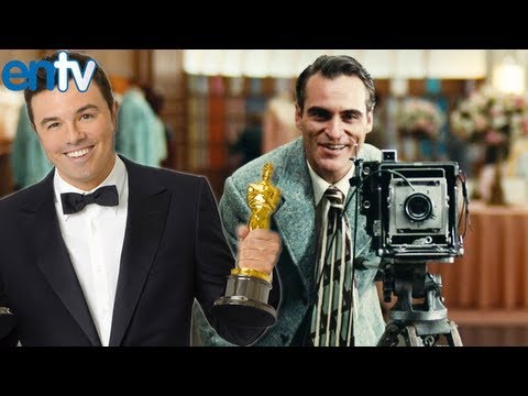 seth macfarlane - Seth MacFarlane says NO to hosting the 2014 Oscars but suggests Joaquin Phoenix. He currently has Ted 2 and A Million Ways To Die In The West coming. Subscri...