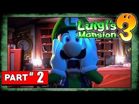 Luigis Mansion Walkthrough Luigi Part Hotel Invitation And Floor