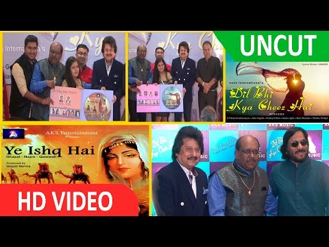 UNCUT- Music Launch Of 2 Audio Albums Dil Bhi Kya Cheez Hai & Ye Ishq Hai