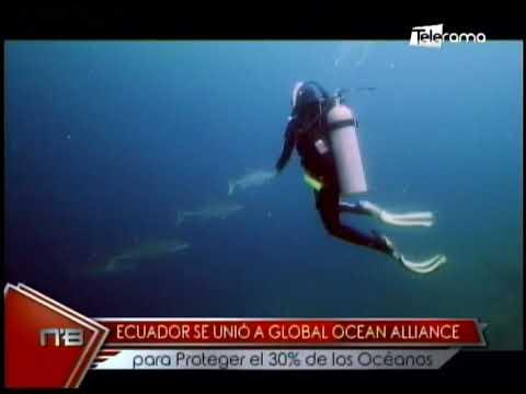 Ecuador se unió a Global Ocean Alliance para proteger el 30% de los Océanos