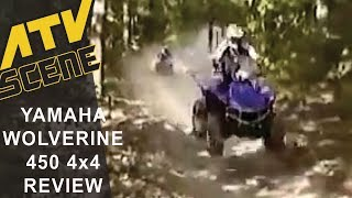 10. 2006 Yamaha Wolverine 450 4x4 Ride Review