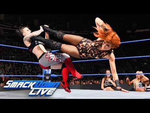 Becky Lynch Vs. Ruby Riott: SmackDown LIVE, March 27, 2018