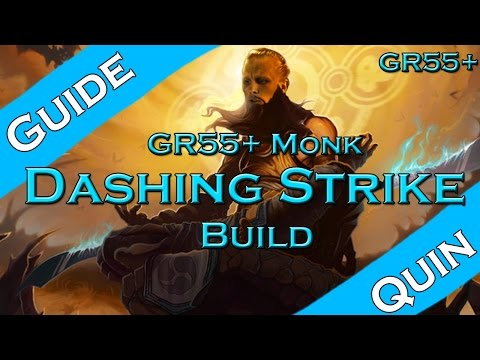 Diablo 3: GR55+ Dashing Strike Monk (2.2 | Season 3)
