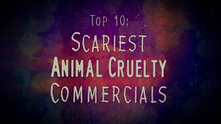 """Contains flashing images. Viewer discretion is advised. A countdown of the scariest and most shocking animal cruelty commercials (PIFs or PSAs) Britain has ever produced. You have been warned that this video is not for the faint-hearted!SUBSCRIBE TODAY! ► http://goo.gl/FdTQ3vAs seen on TV Tropes: http://goo.gl/XMxcvALINKS:► WEBSITE: http://helloimapizza.com► FACEBOOK: https://www.facebook.com/helloimapizza/► Watch this countdown on Vimeo (no ads!): http://vimeo.com/helloimapizza/animal...► Check out my nicely assorted playlists: http://www.youtube.com/user/HelloImAP...Intro: """"November Has Come"""" by Gorillaz (Instrumental)Outro: """"Dare"""" by Gorillaz (Instrumental)"""