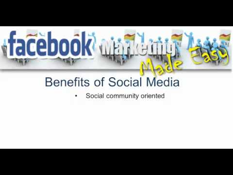 Introduction to Facebook and Social Media Marketing Made Easy