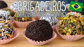 Brigadeiros - Brazilian Chocolate Fudge Balls   Taste the World #8 by  My Virgin Kitchen