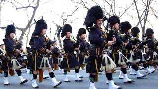 Bagpipers - NYC St. Patrick's Day Parade March 17th, 2011