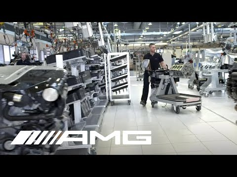 Mercedes AMG   Virtual Tour of Headquarters & Factory | Video
