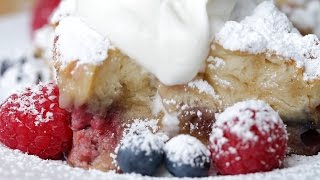 Berries & Cream French Toast Bake by Tasty