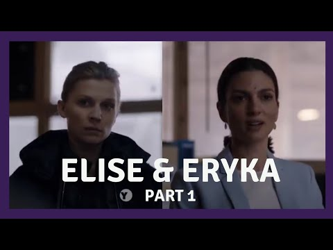 Elise and Eryka Part 1 - The Tunnel S2  UK TV - A Lesbian Interest Love Story [Eng, Port, Esp Subs]