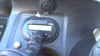 9. Mein Radio mit MP3 an meinem Roller KYMCO Grand Dink 250