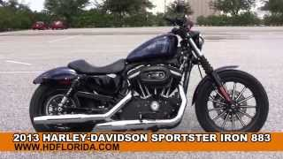 9. Used 2013 Harley Davidson Sportster Iron 883 Motorcycles for sale.