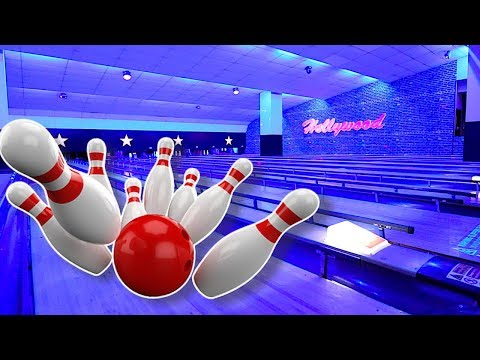 Kids Bowling Indoor Family Fun. Arcade Games, Car Racing and Fun Activities. Kids Video (2018)