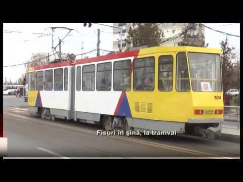 Fisuri in sina, la tramvai