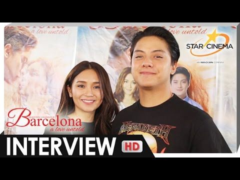 Kathryn and Daniel on their upcoming projects after the success of 'Barcelona: A Love Untold