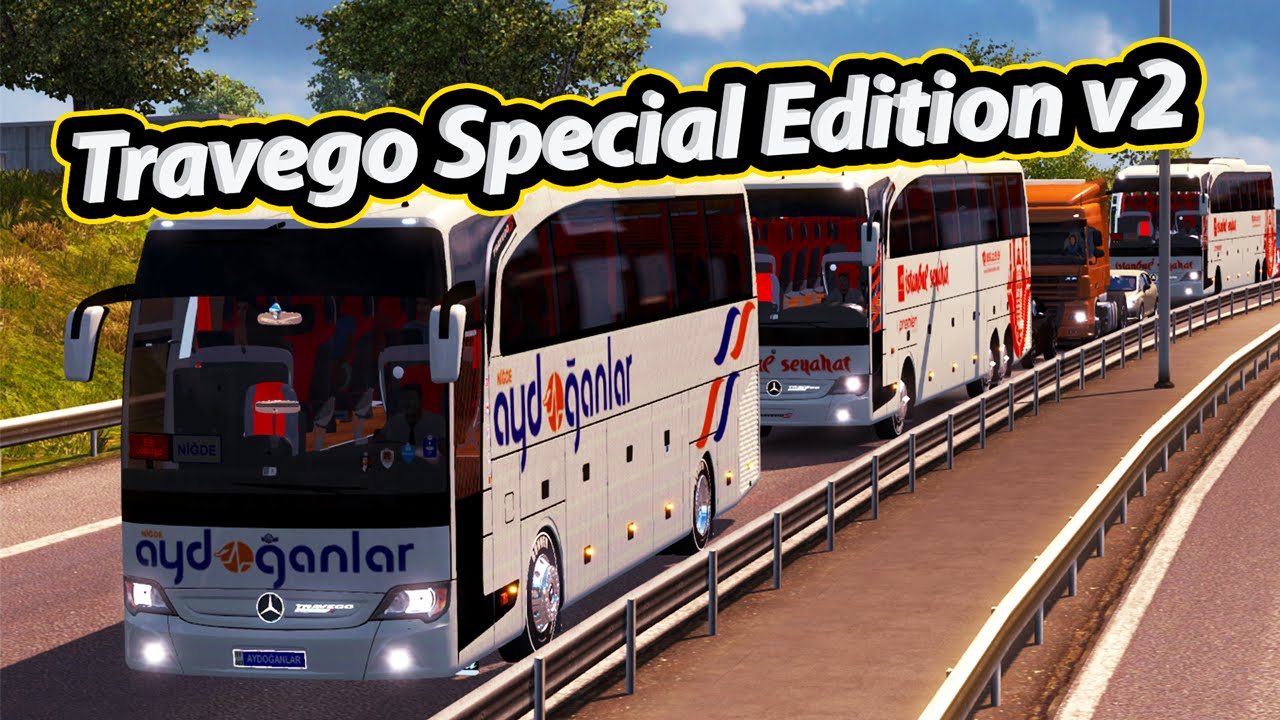 Mercedes-Benz Travego 15-17 SHD Special Edition v2.0 for ETS 2