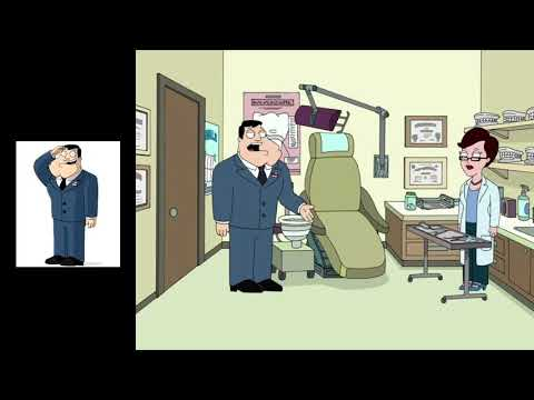 American Dad- Stan Has a Backup Wife