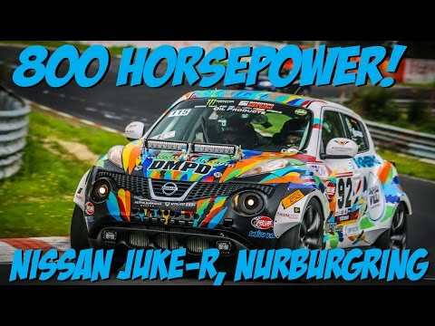 Nürburgring - The crazy offspring of a Nissan GTR making love to a Juke. On the Nordschleife.