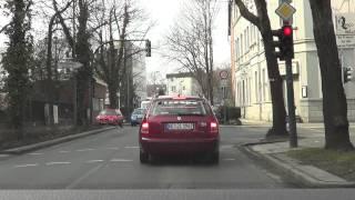 Essen Germany  city pictures gallery : Driving to Germany City Essen - Stadtteil Altenessen 2013