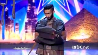 عرض يحبس الأنفاس لأحد المتسابقين ببرنامج عرب