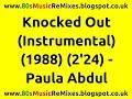 Knocked Out (Instrumental) - Paula Abdul | 80s Pop Hits | 80s Pop Music | 80s Music Instrumentals