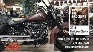 10. 2018 Harley-Davidson® Heritage Classic FLHC, FLHCS -
