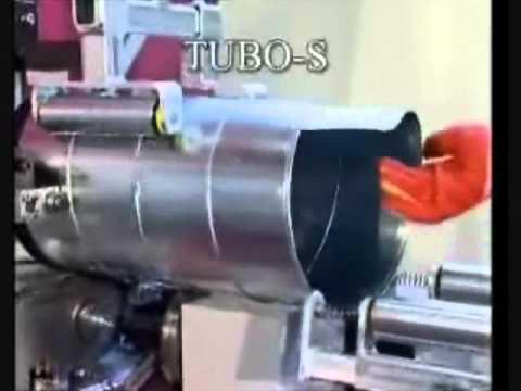 Maquina para fabricar spiroducto Tormec
