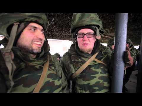 День 3 - Большой тест-драйв в армии - Батарея Стиллавина - DomaVideo.Ru