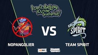 NoPangolier vs Team Spirit, Game 3 Part 2, Grand Final, I Can't Believe It's Not Summit